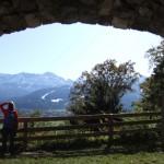 Blick von der Ruine Werdenfels