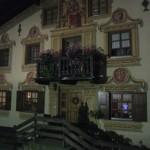 Lüftlmalerei in Garmisch