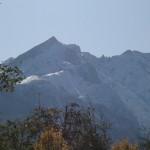 Wundervoller Bergblick