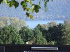 Blick vom Kloster auf den Laacher See