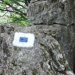 Rundwanderweg-Markierung