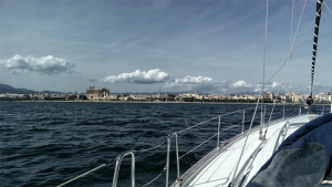 Palma in Sicht