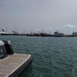 Dickschiffe im Hafen von Palma