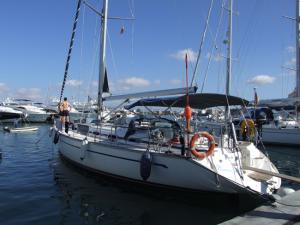 Die Roxanna - unser Segelboot