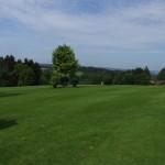 Blick vom Golfplatz auf die Umgebung