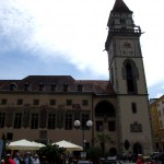 Passau, Altes Rathaus an der Donau