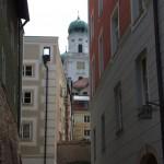 Kleine Gasse in Passau