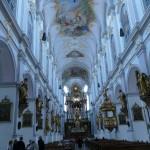 Der Alte Peter in München - das Hauptschiff