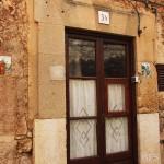 Fliesen an den Haustüren in Valdemossa