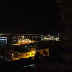 Mallorca-Fährhafen bei Nacht/©2014 B.Fischer-Stracke