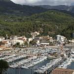 Die Marina von Port Sóller